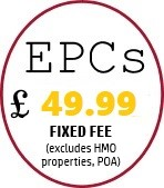 EPCs £49 in Leicestershire